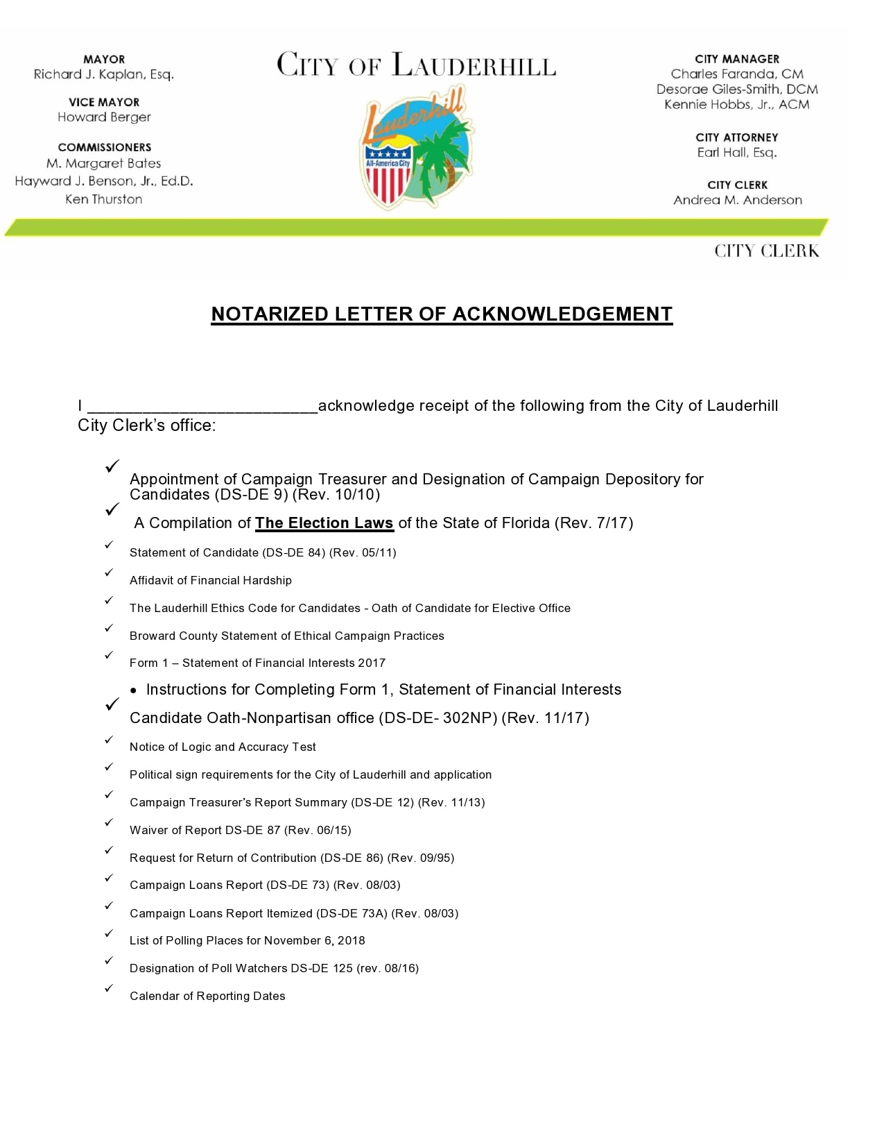 30 free notarized letter templates notary letters