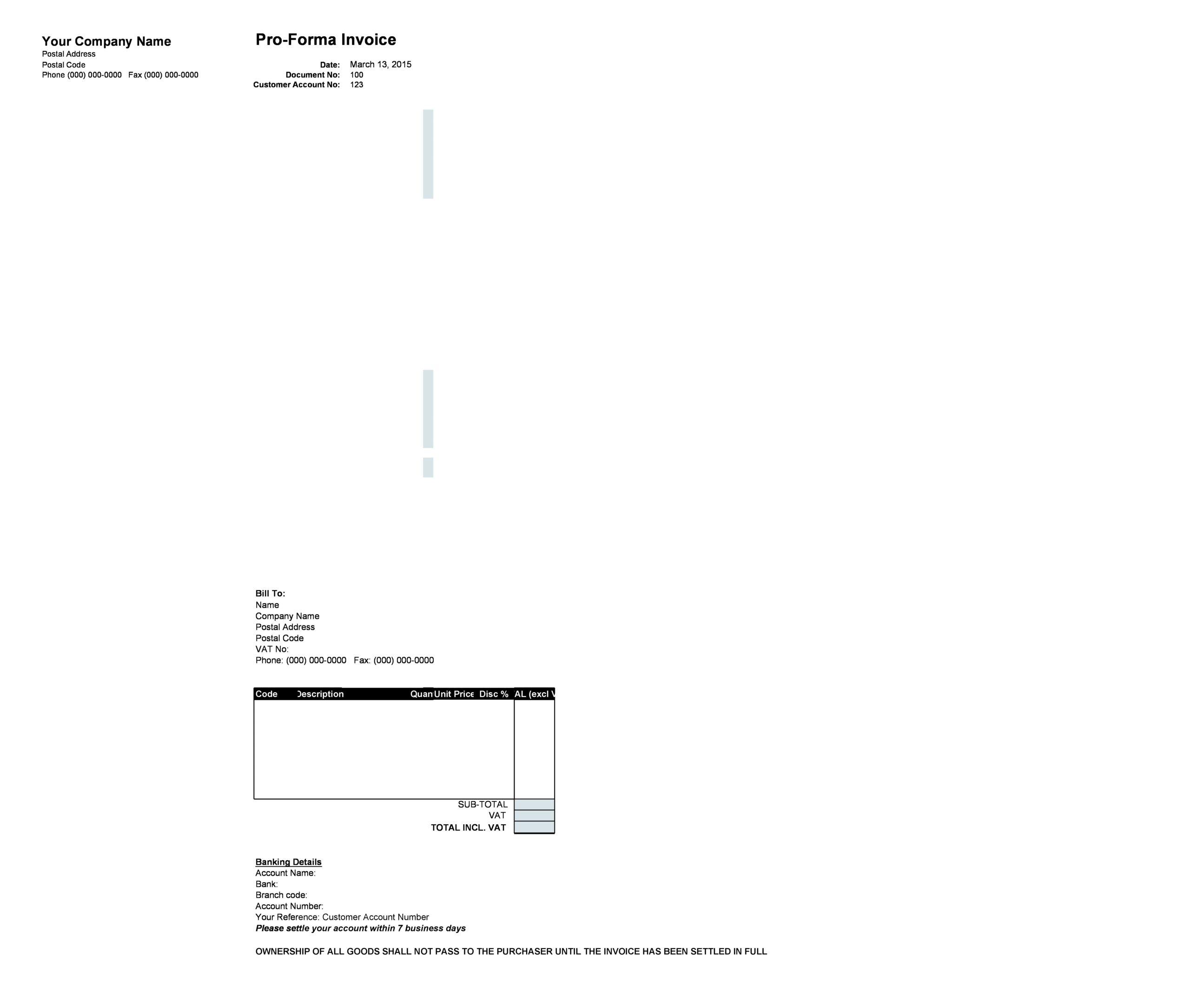 proforma invoice template 04