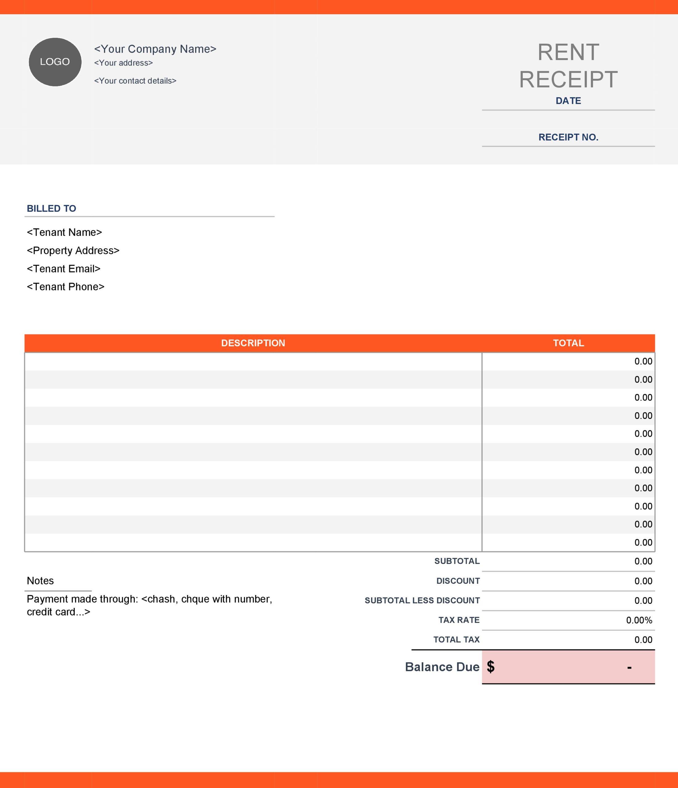 rent receipt 03