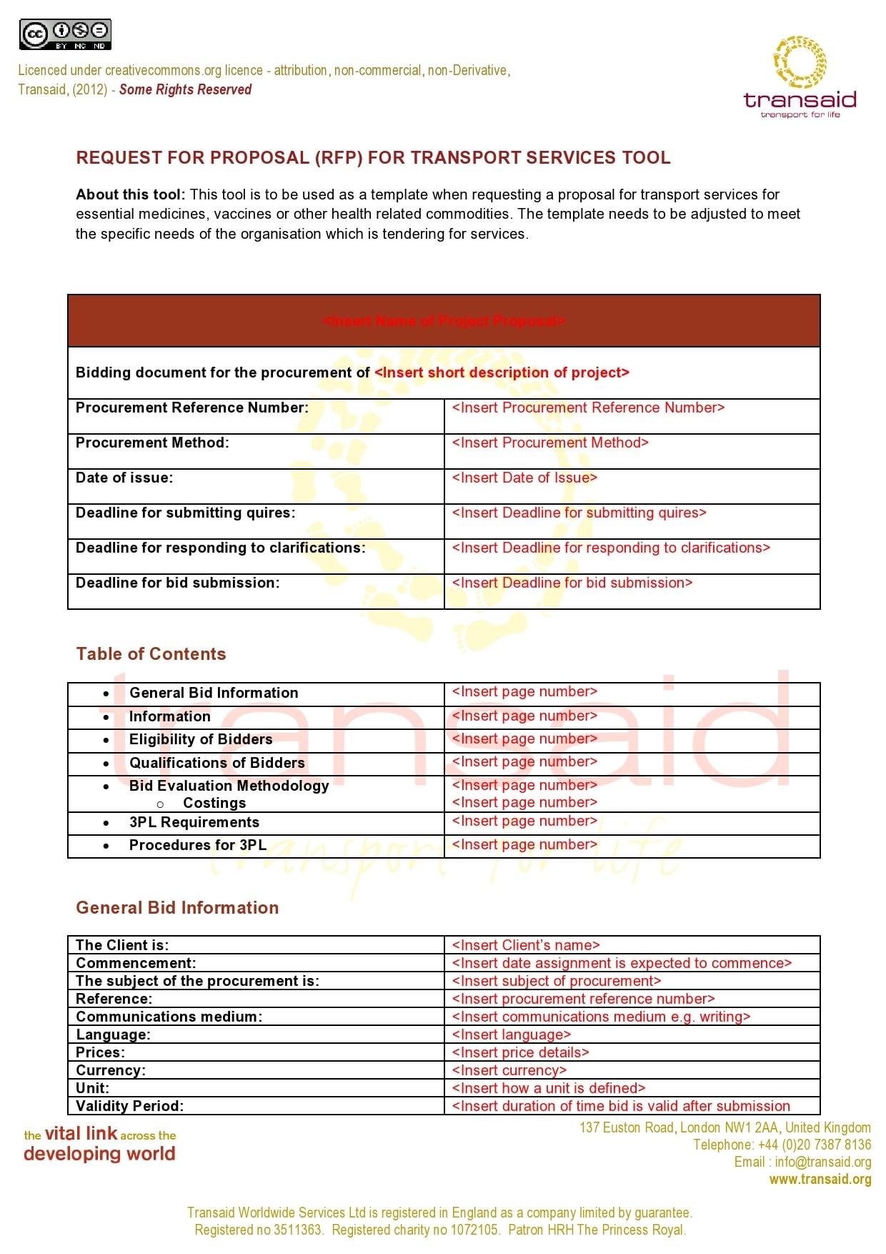 rfp template 28