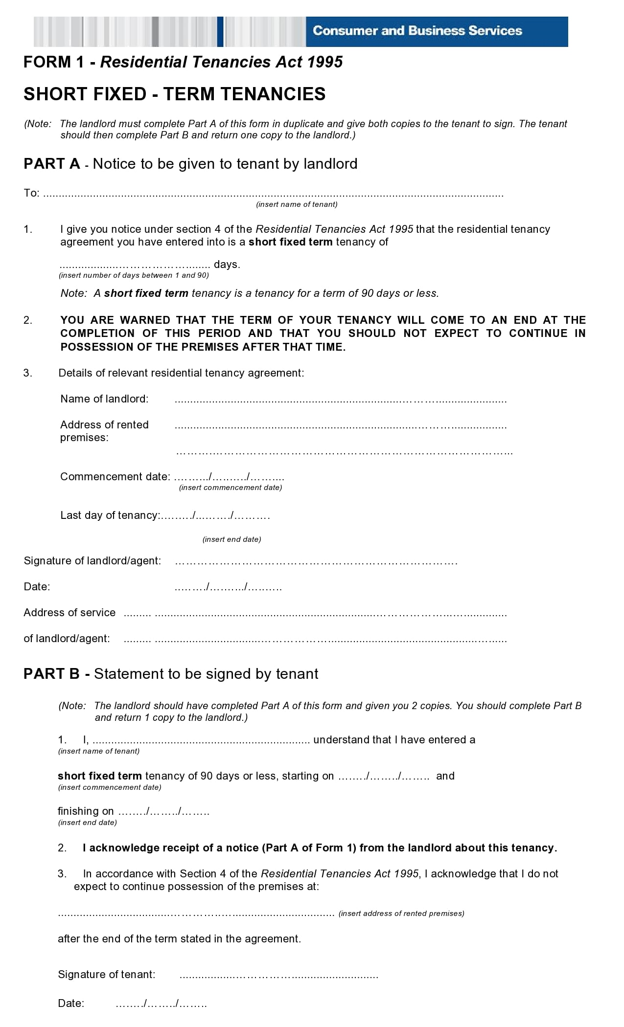 simple one page rental agreement 24