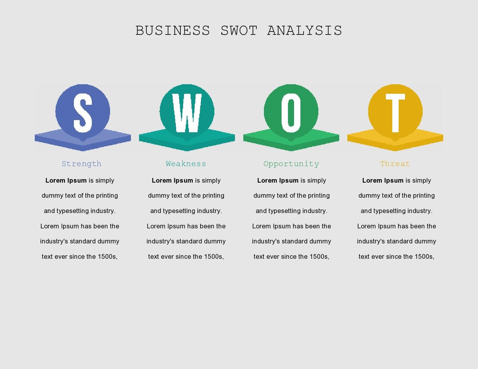 swot analysis template 07