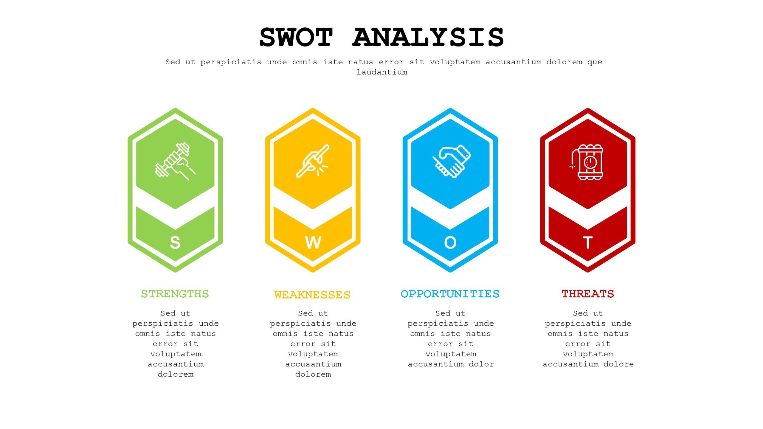 swot analysis template 12