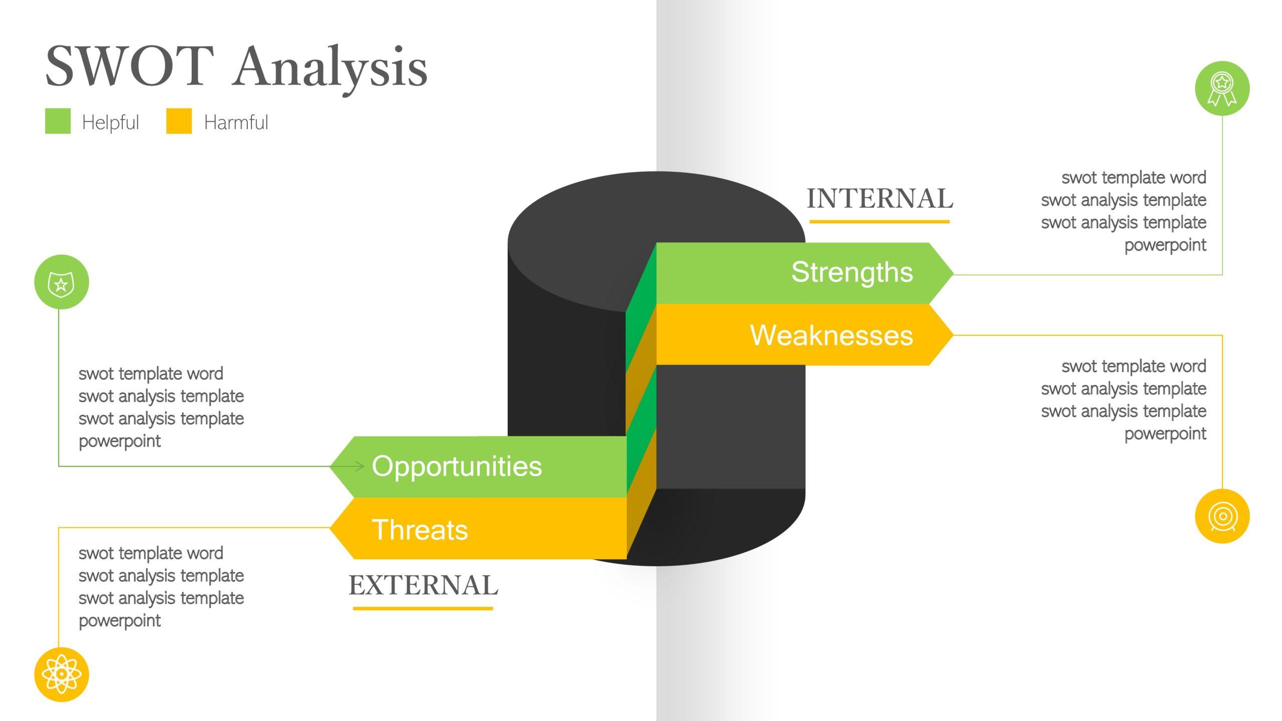 swot analysis template 23
