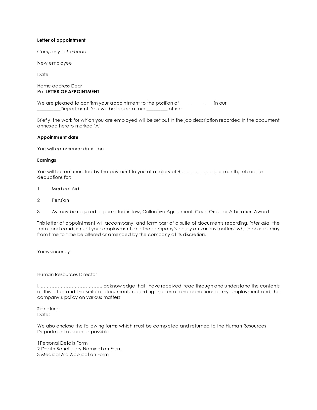 appointment letter 02