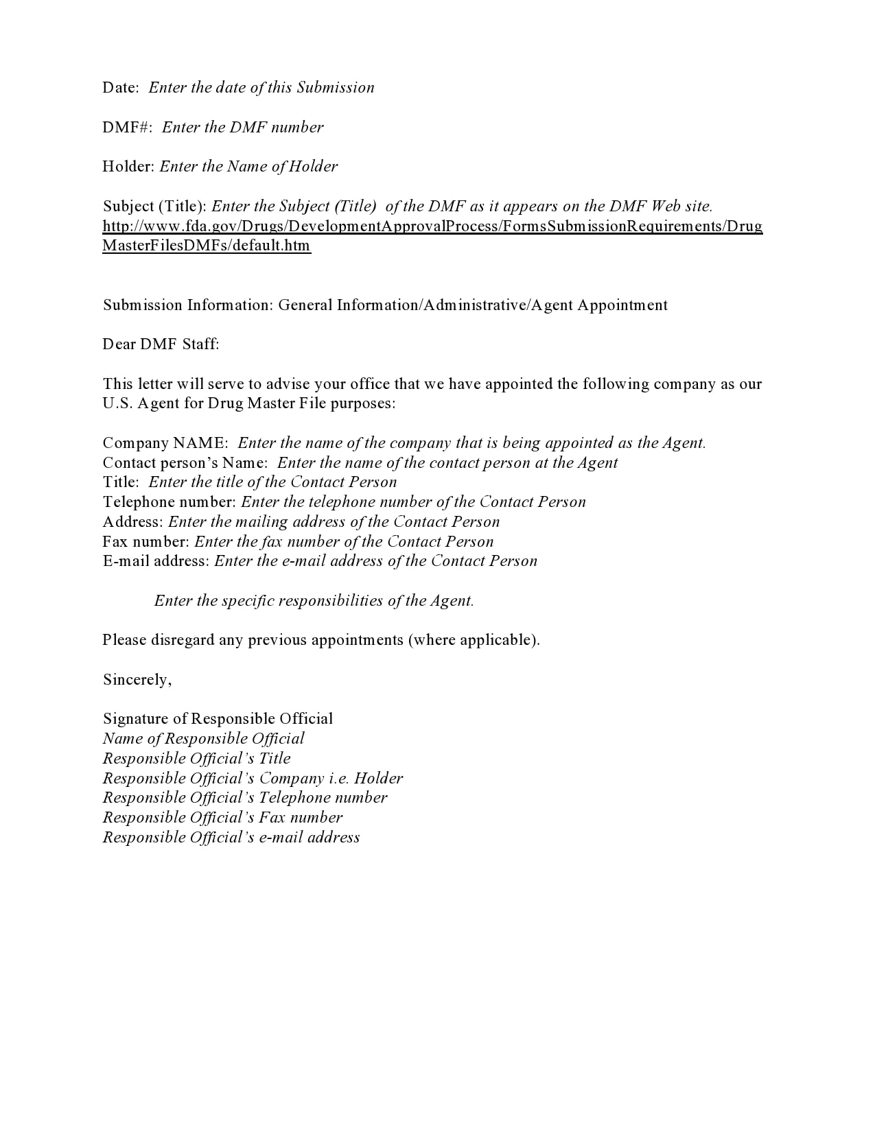 appointment letter 17