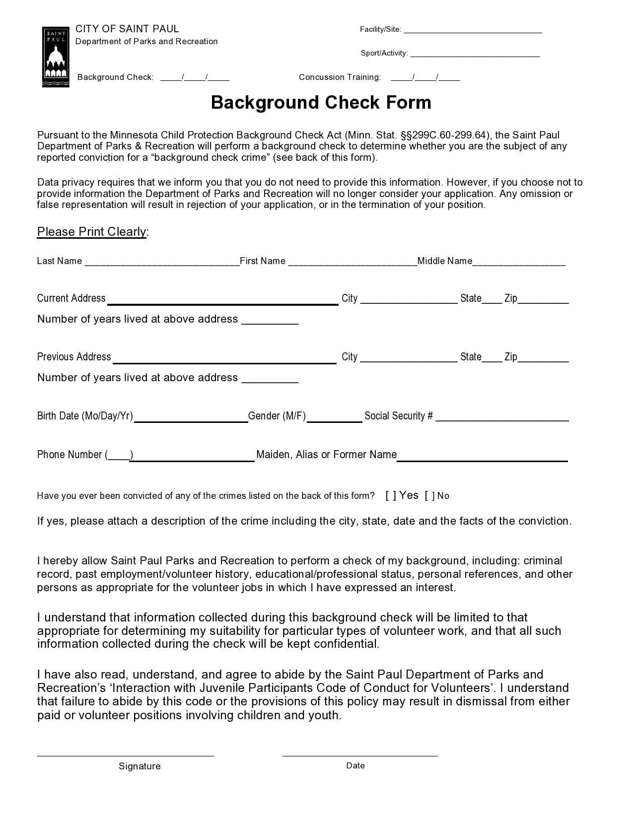 background check form 02