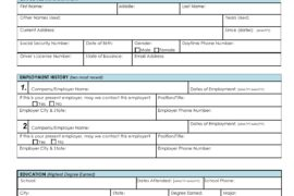 background check form 25