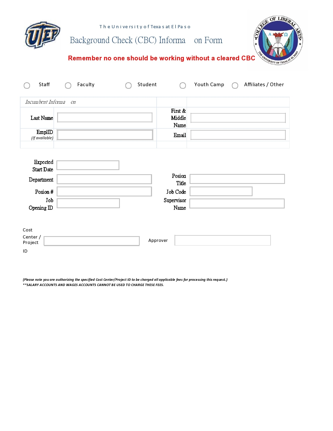 background check form 29