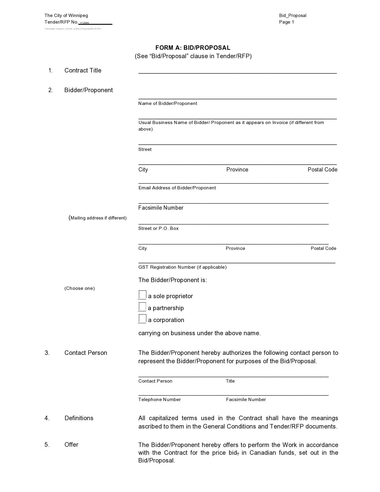 bid proposal 06