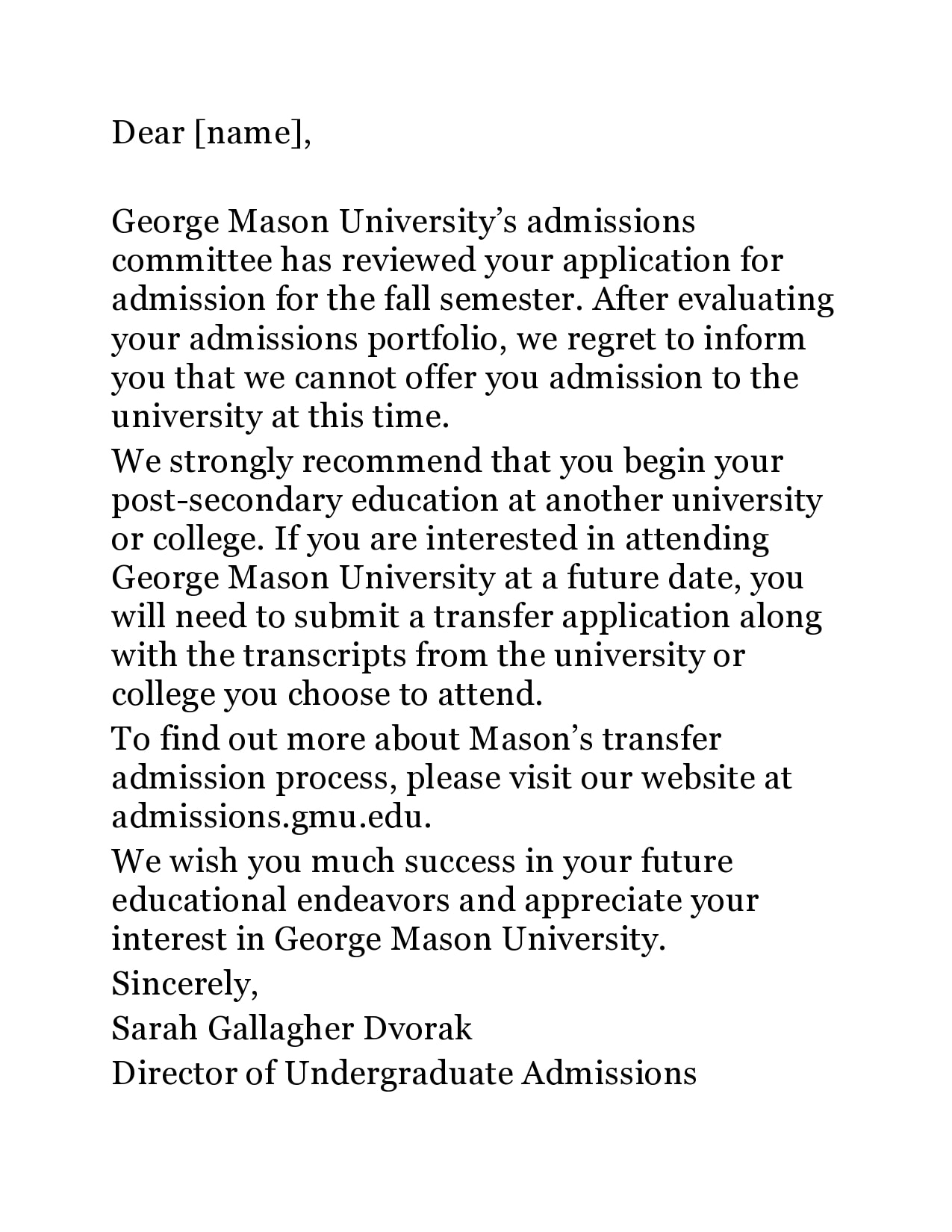 college rejection letter 18
