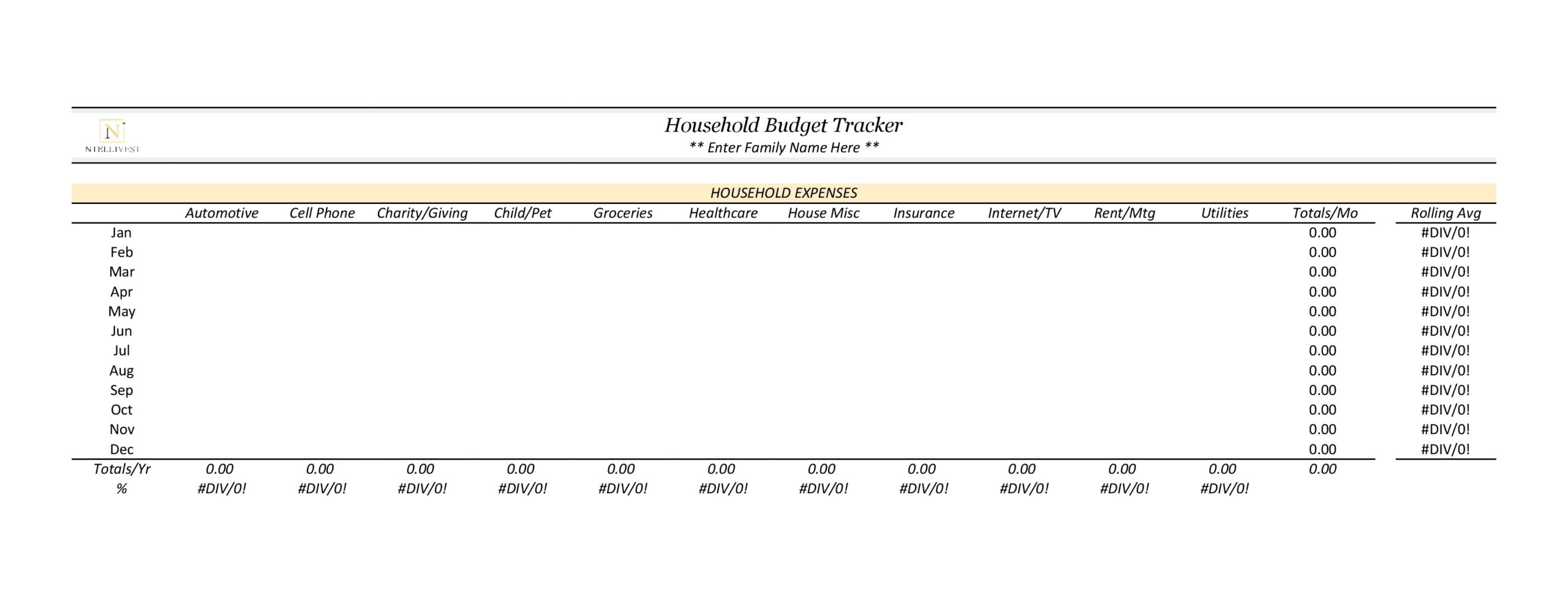 household budget template 04