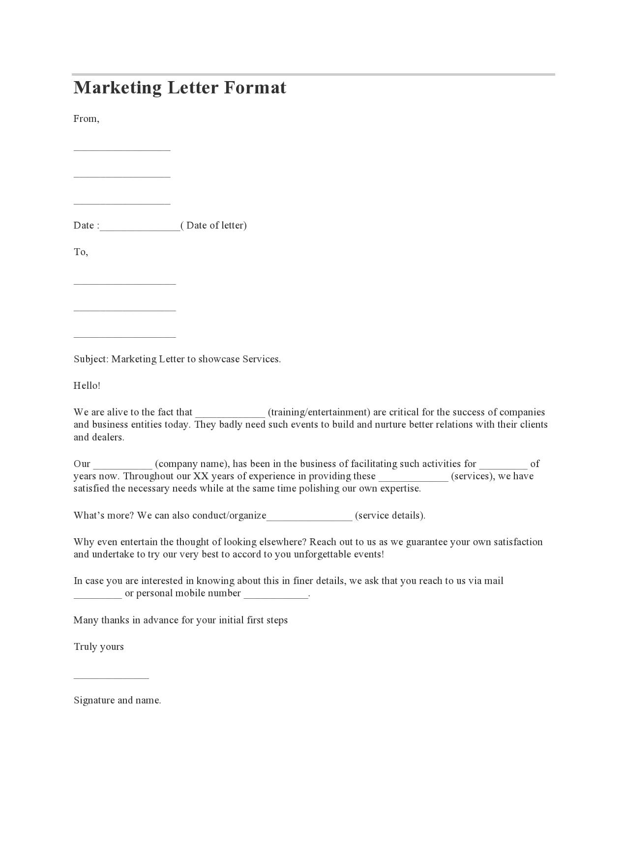marketing letter 02