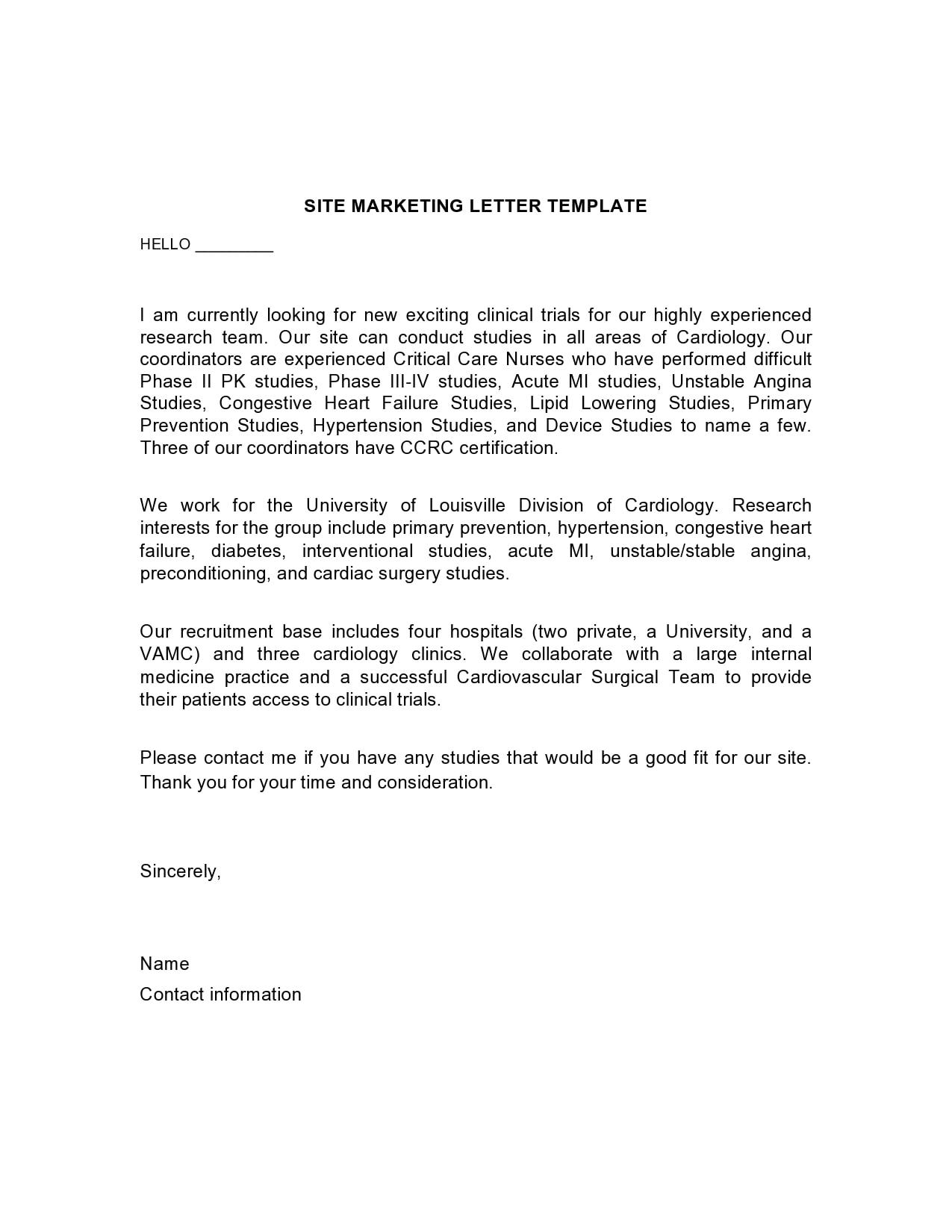 marketing letter 04