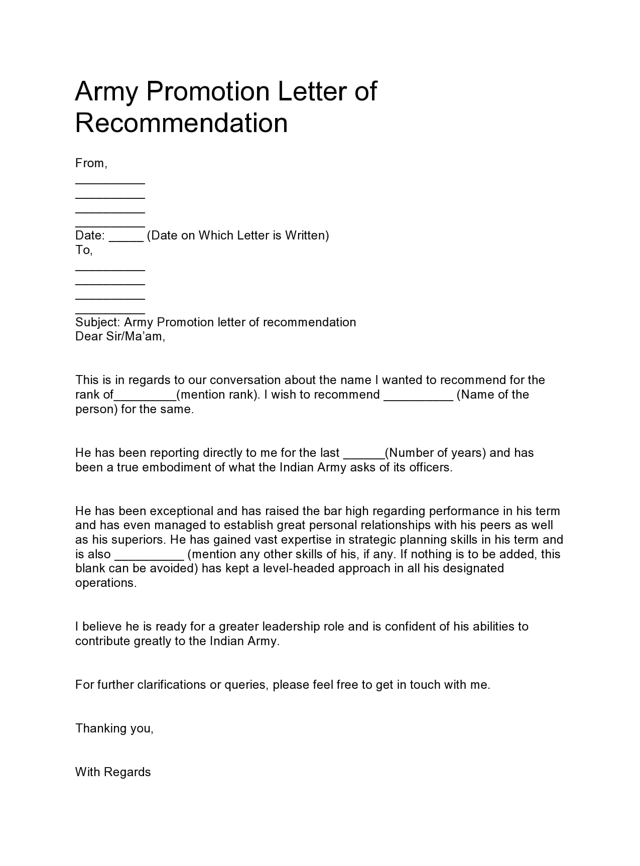 military letter of recommendation 05