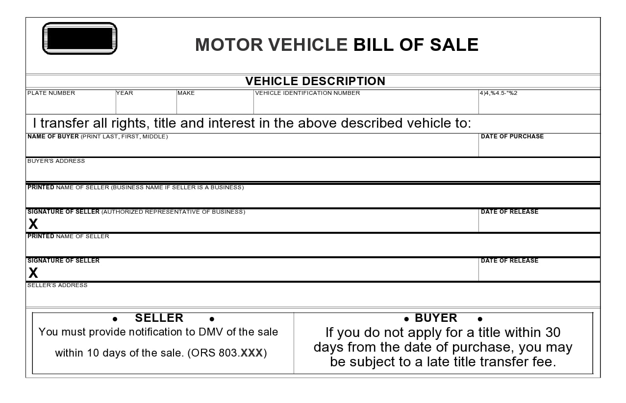 motorcycle bill of sale 06