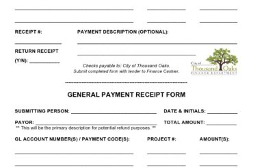payment receipt template 20