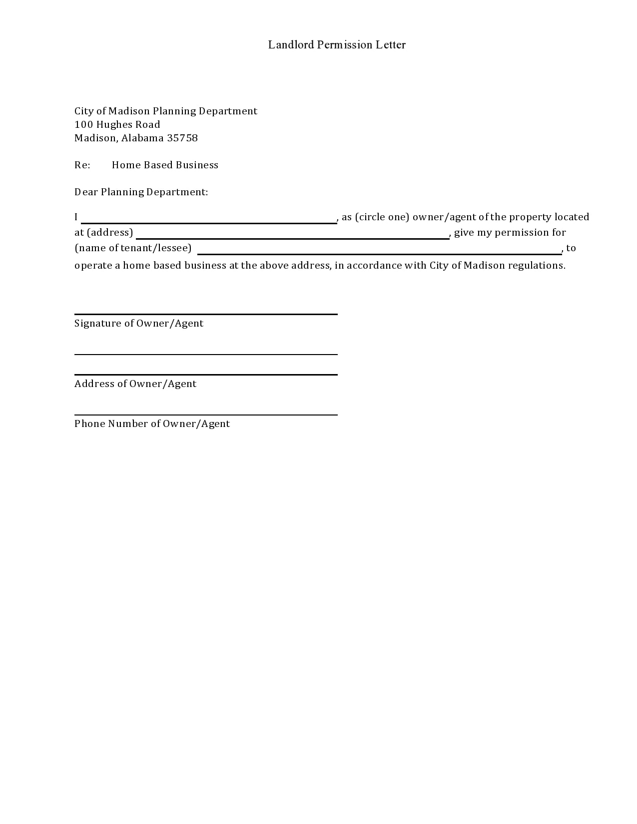 permission letter 03