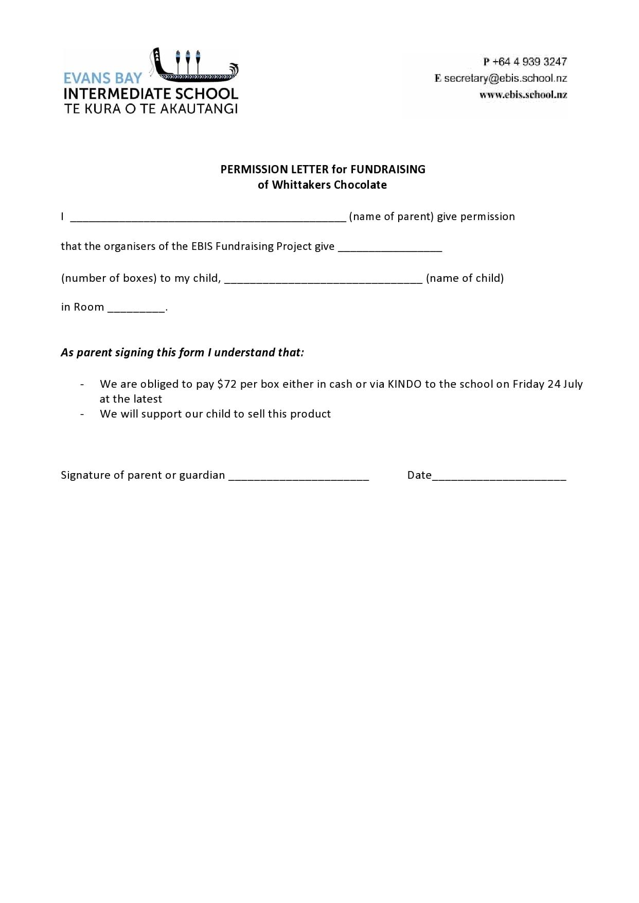 permission letter 08