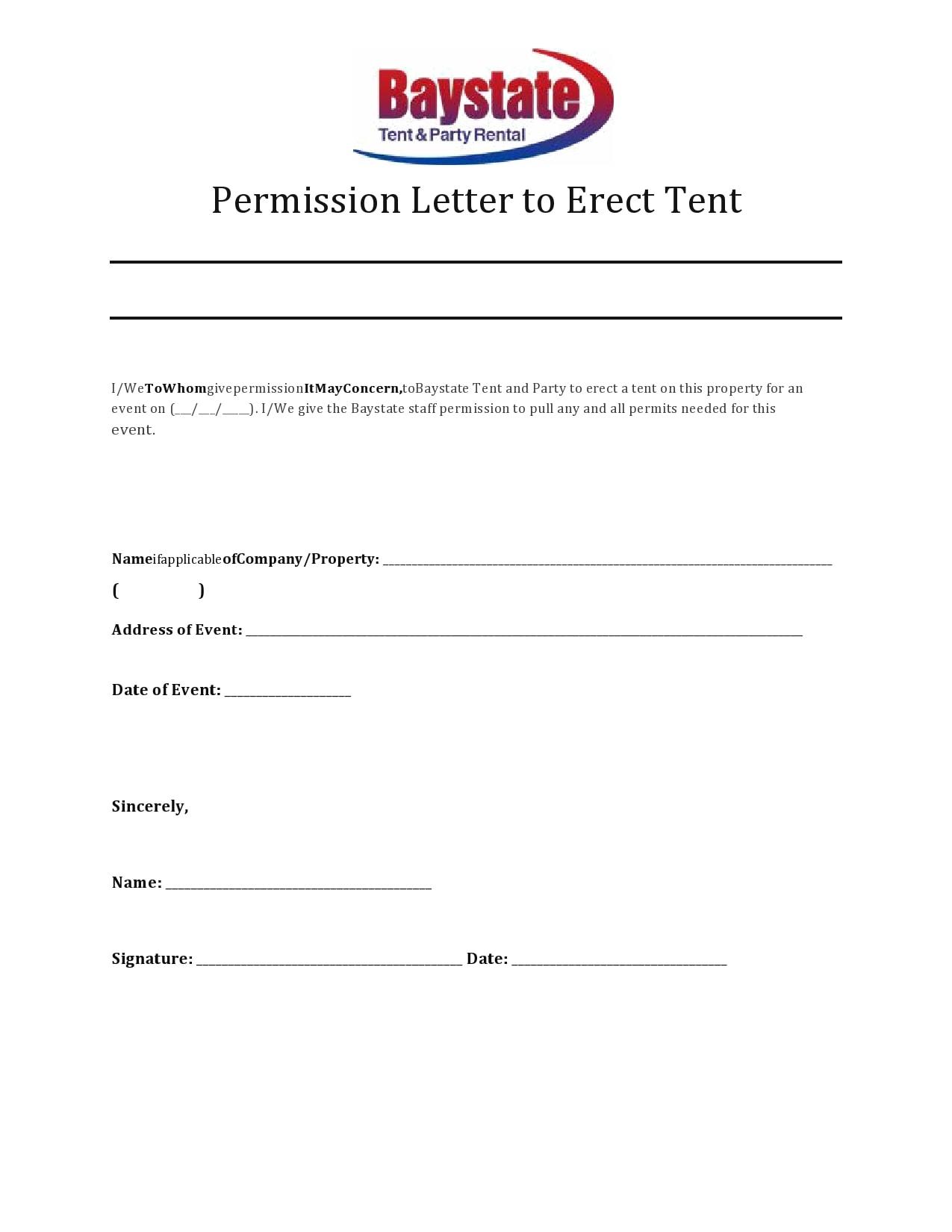permission letter 09