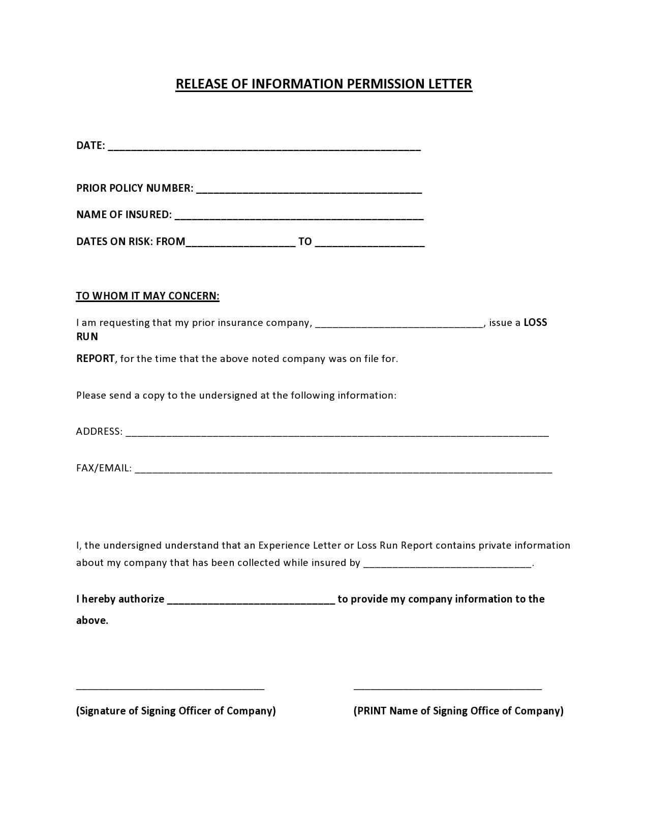 permission letter 20
