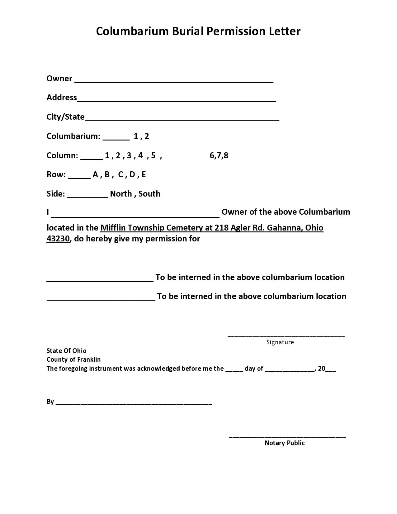 permission letter 27