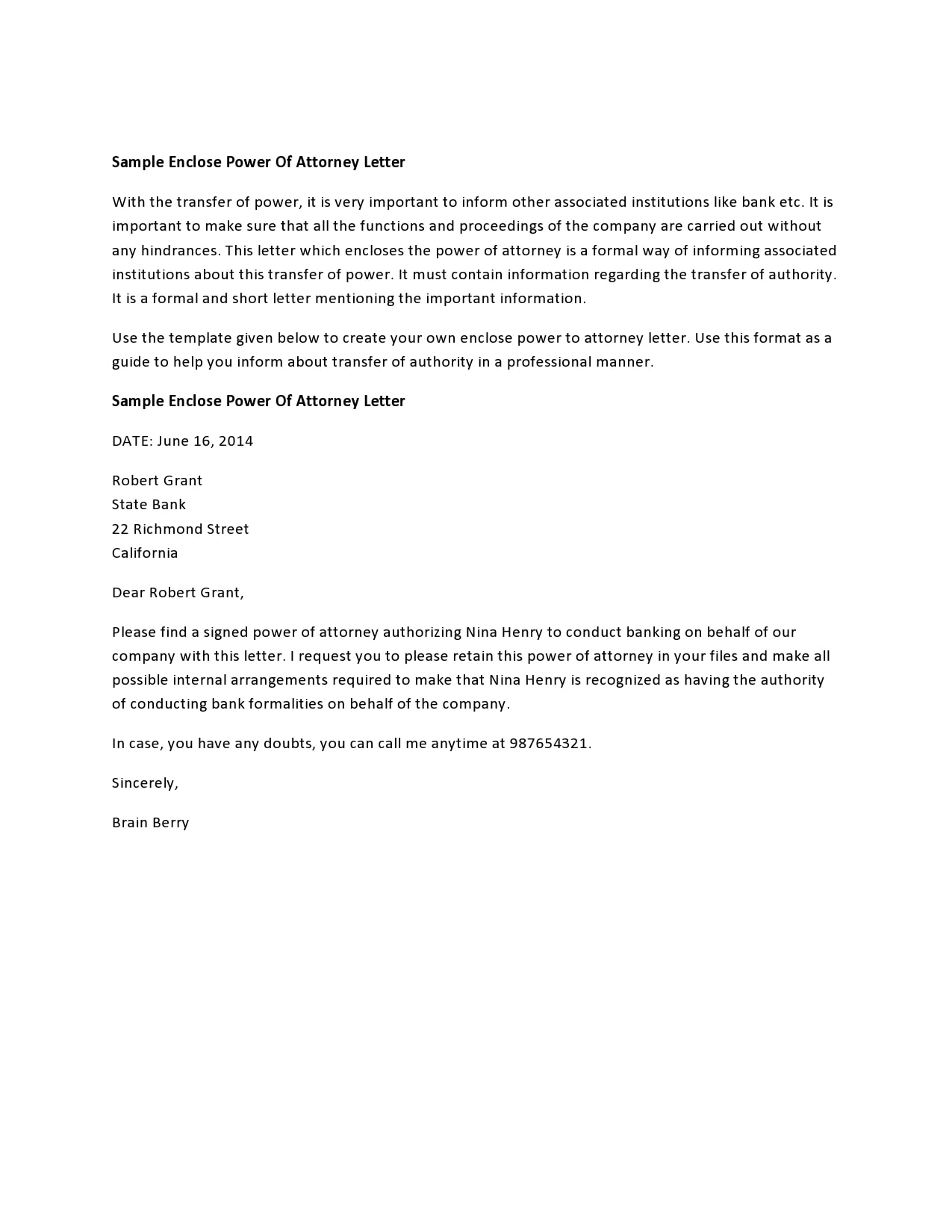 power of attorney letter 02