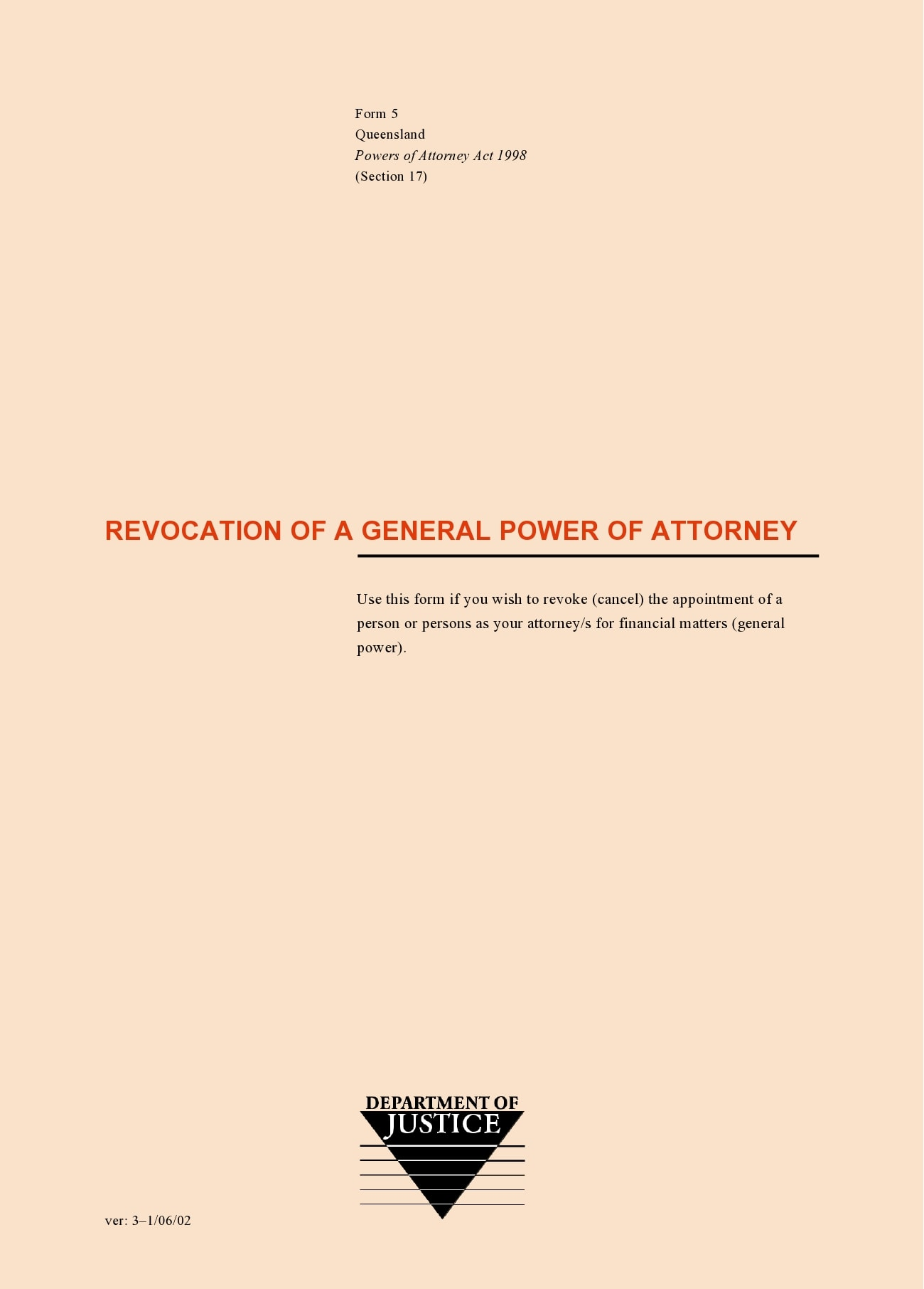 power of attorney revocation form 12