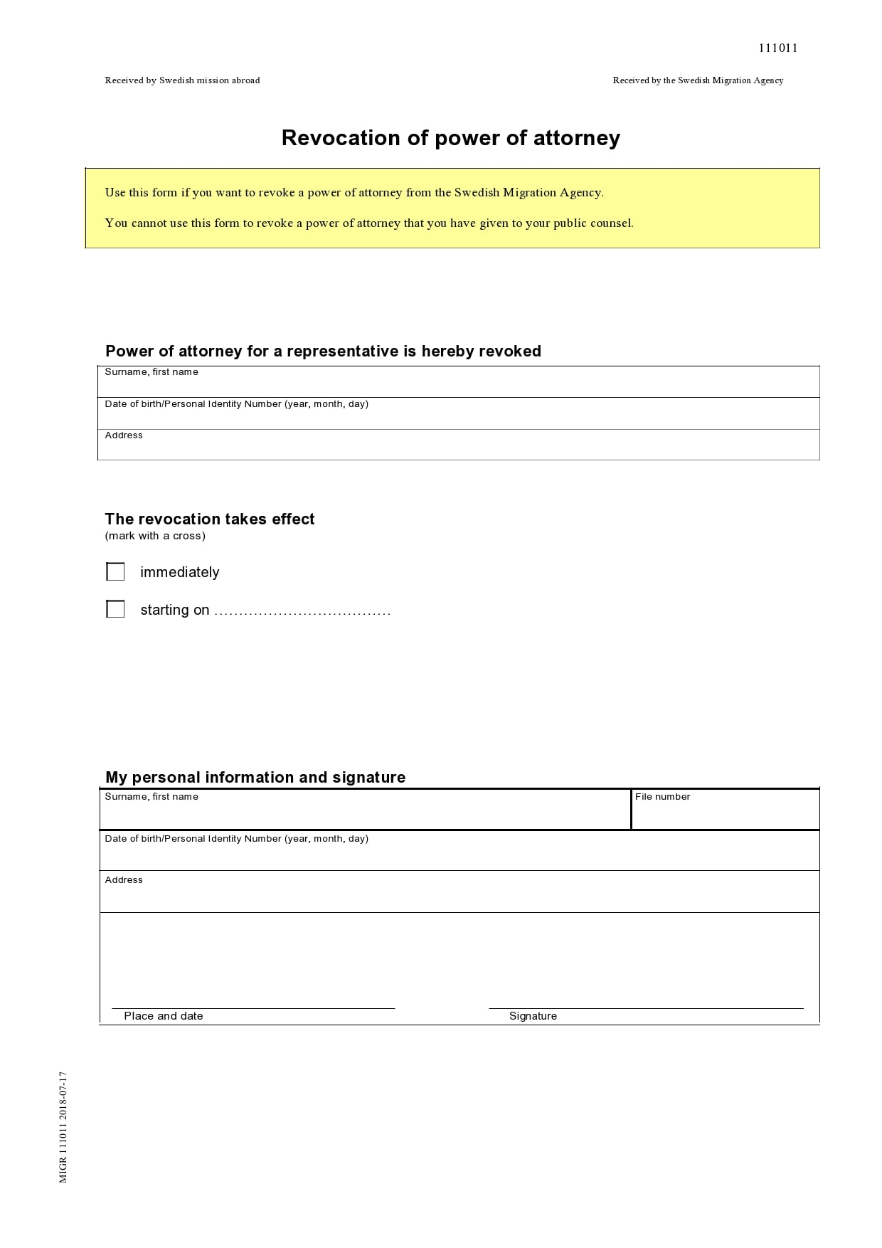 power of attorney revocation form 24