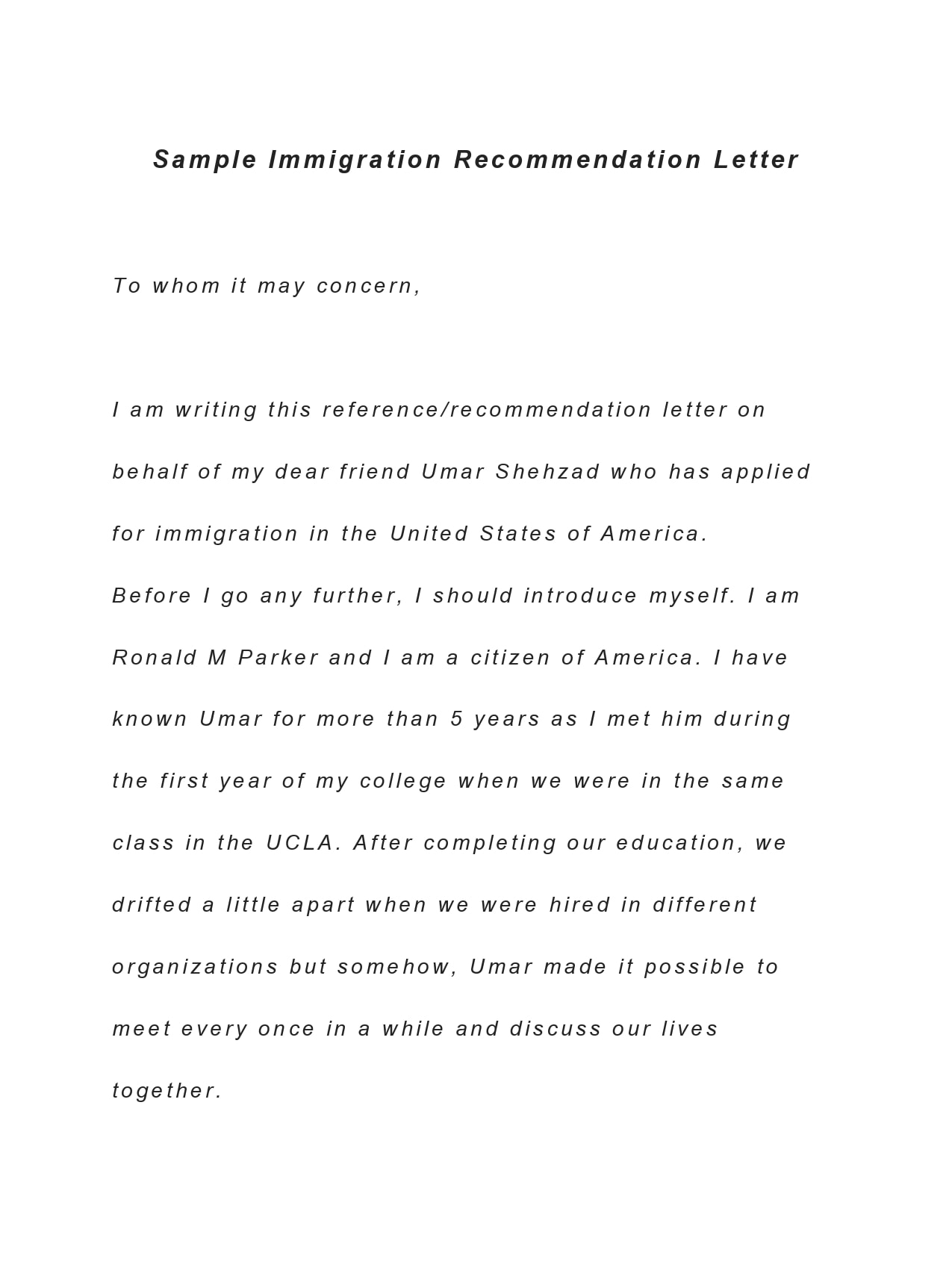 reference letter for immigration 25