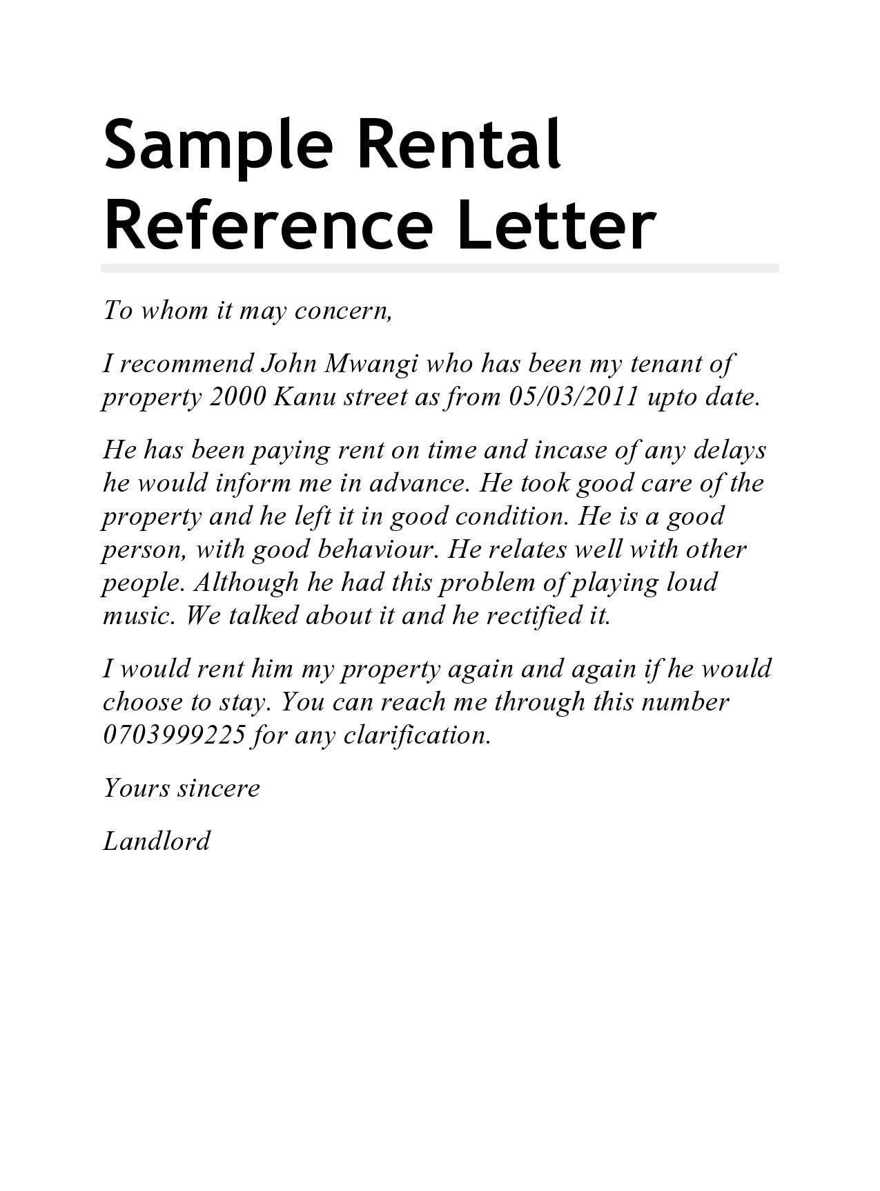 rental reference letter 09