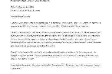rental reference letter 13