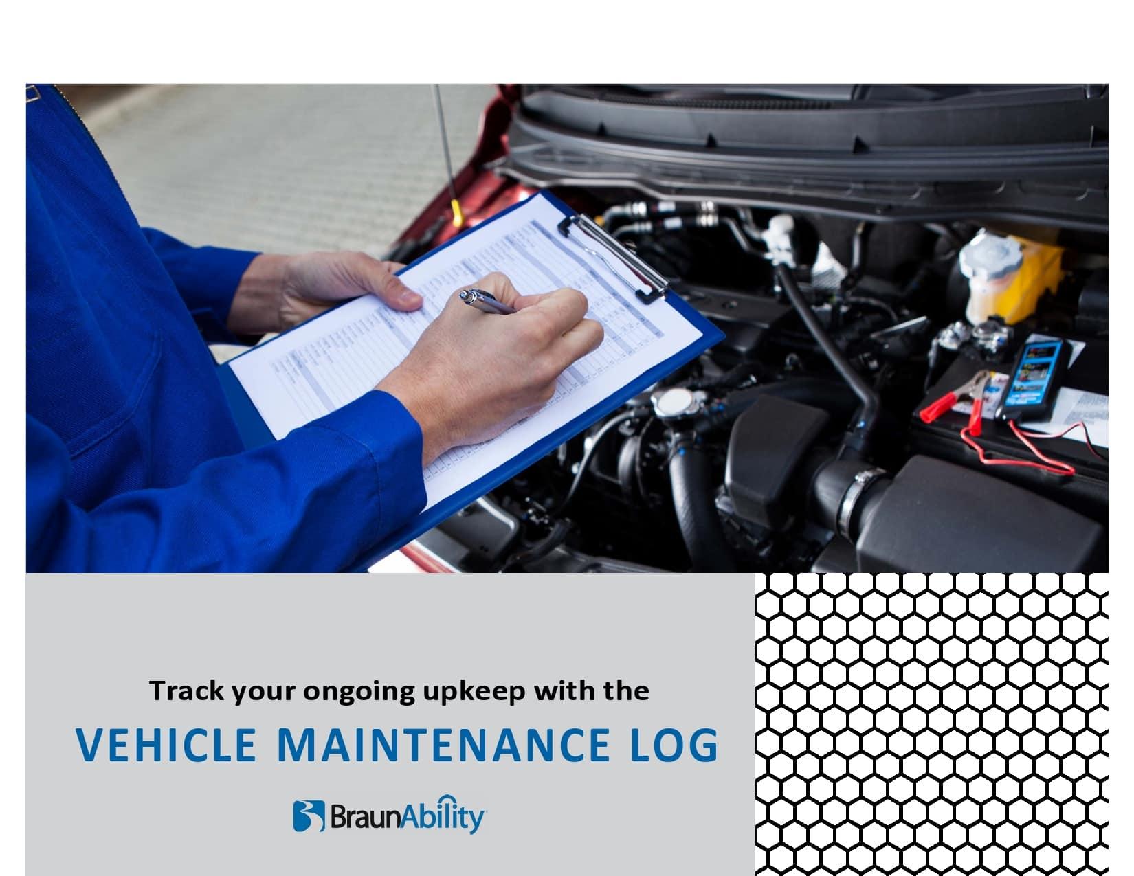 vehicle maintenance log 23