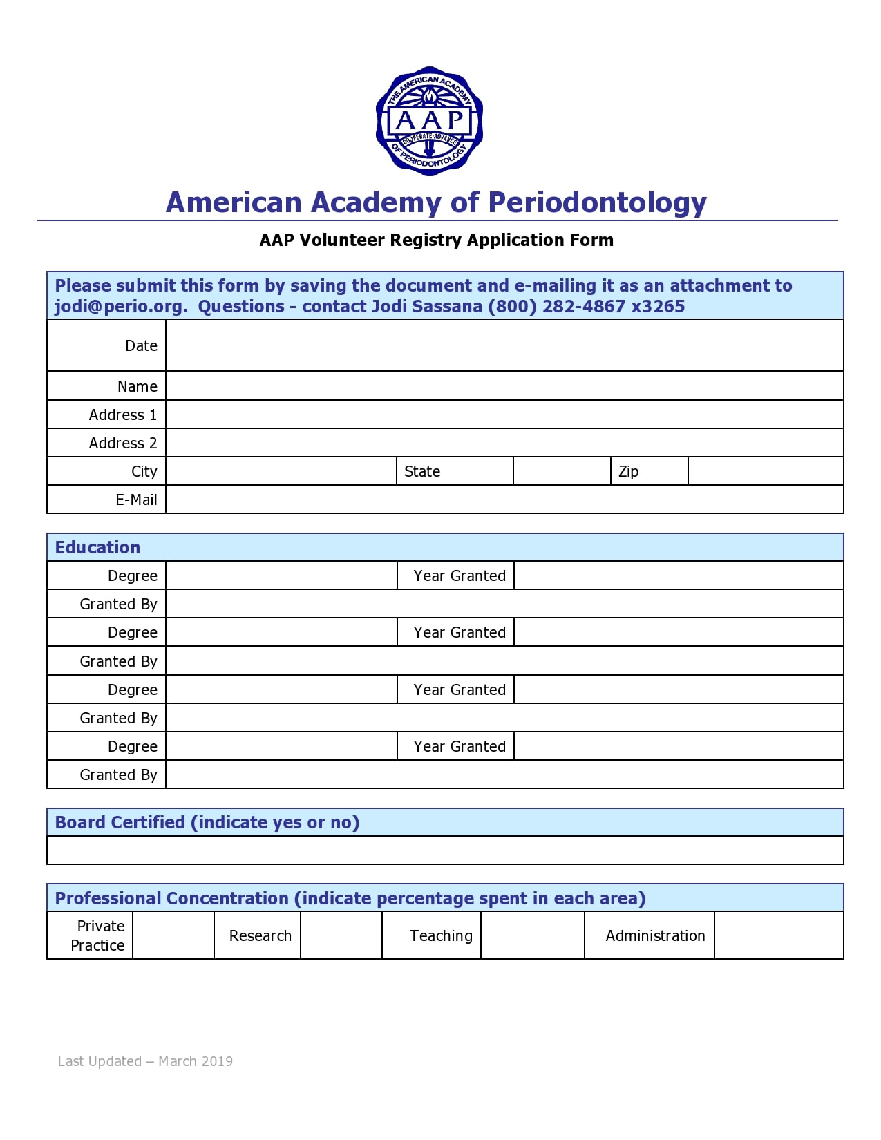 volunteer application template 20