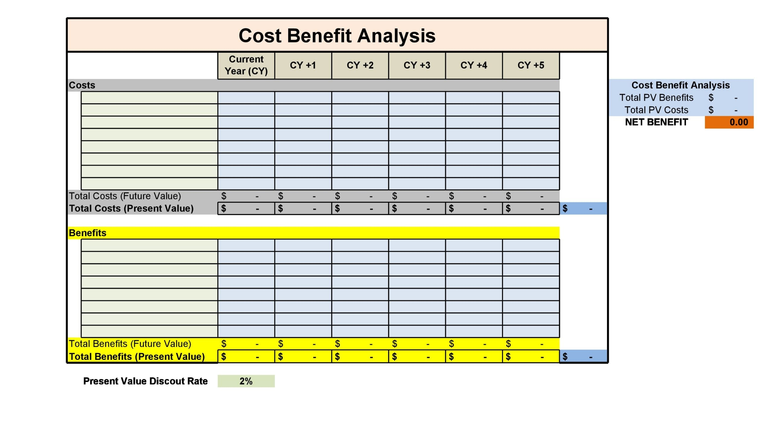 cost benefit analysis template 09