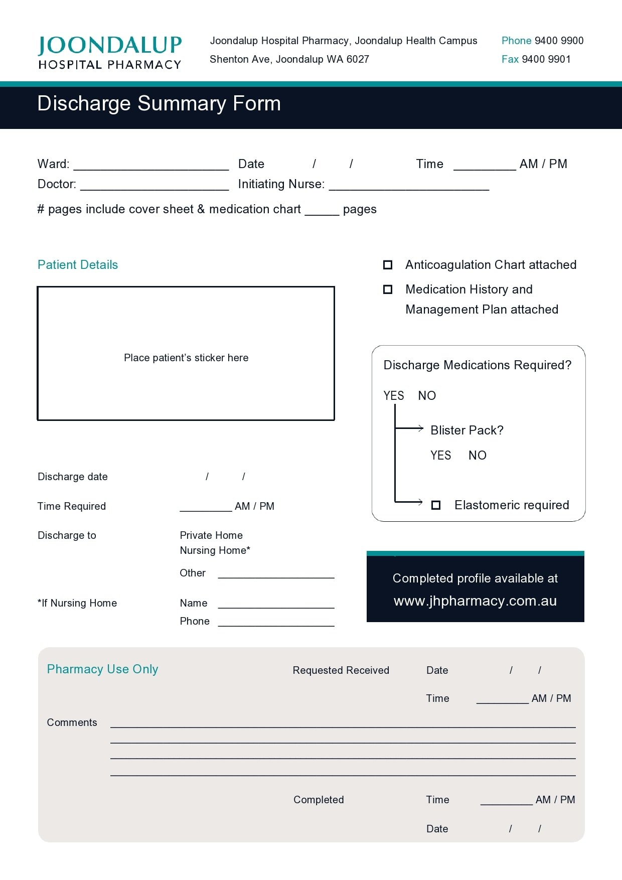 discharge summary template 05