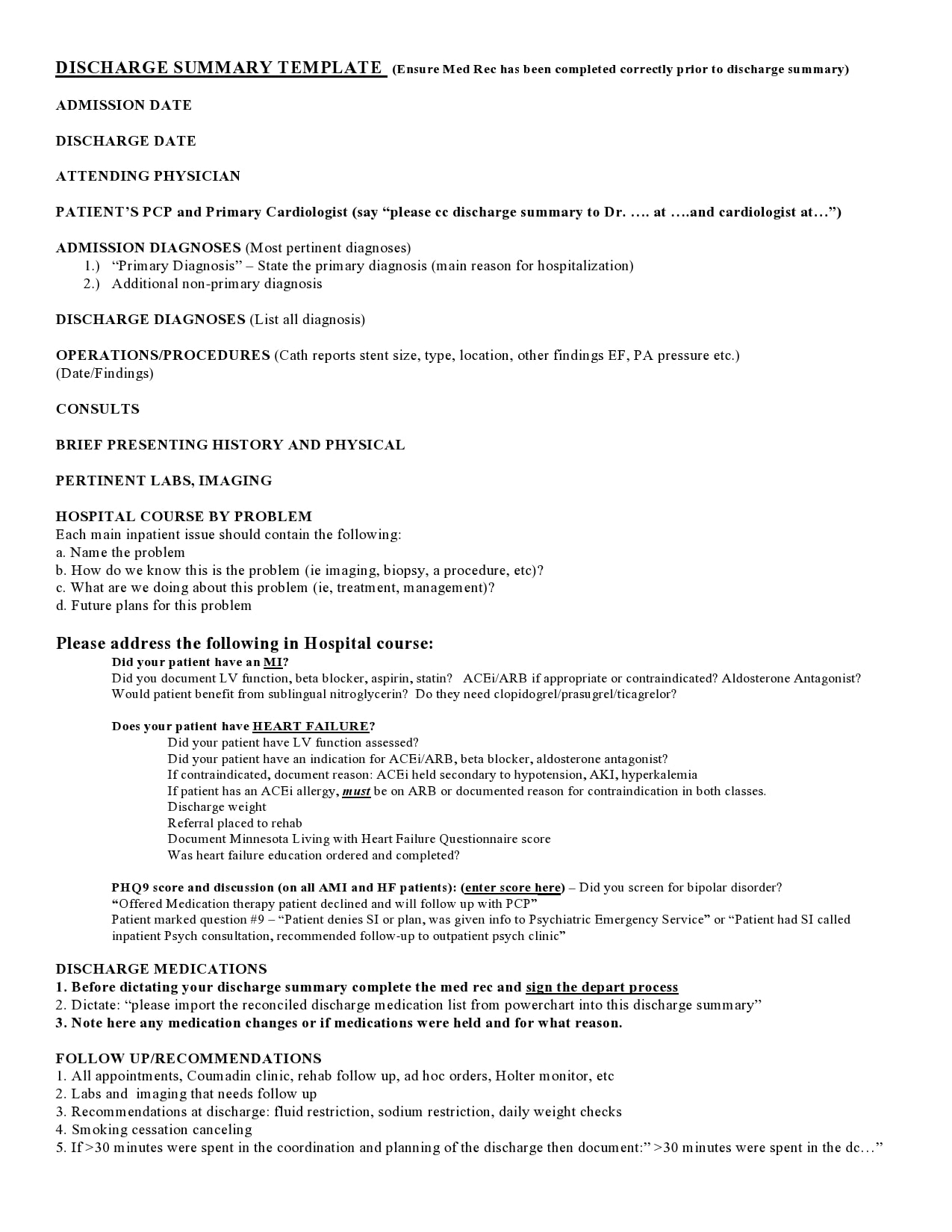 discharge summary template 10