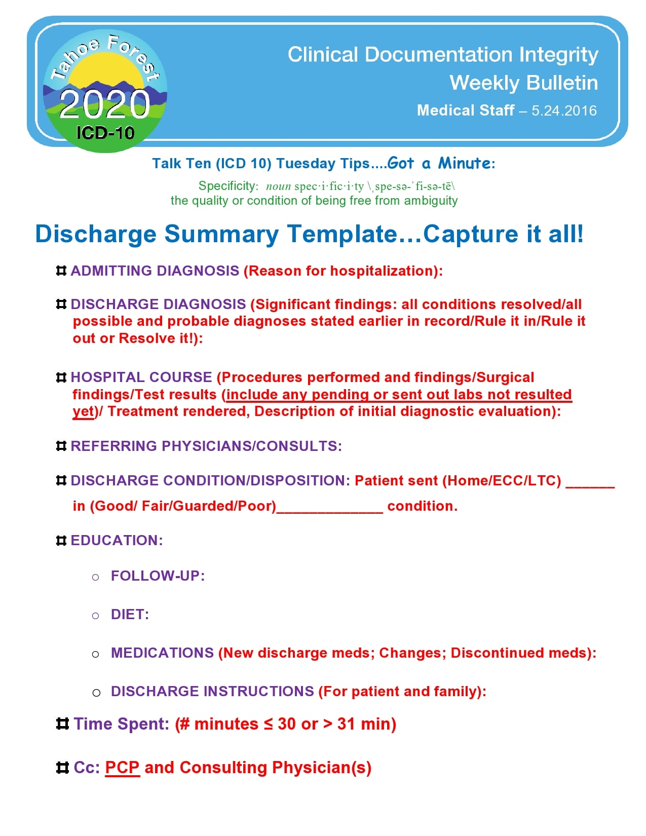discharge summary template 22