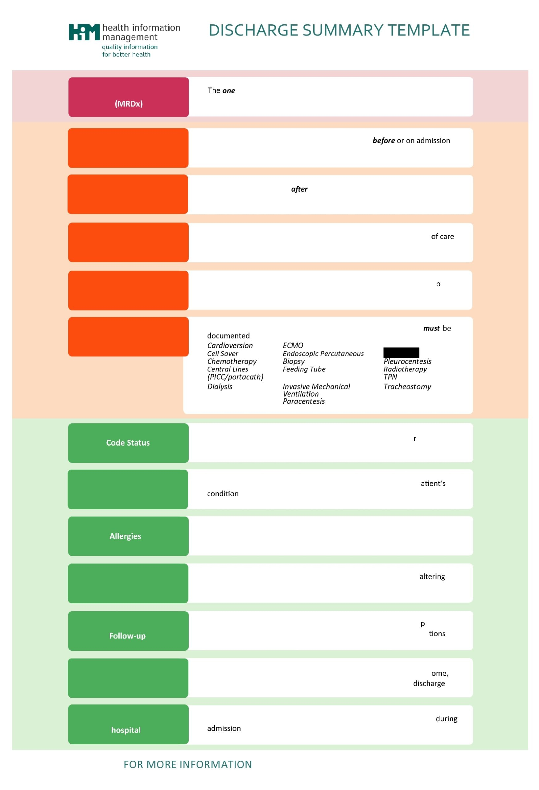 discharge summary template 24