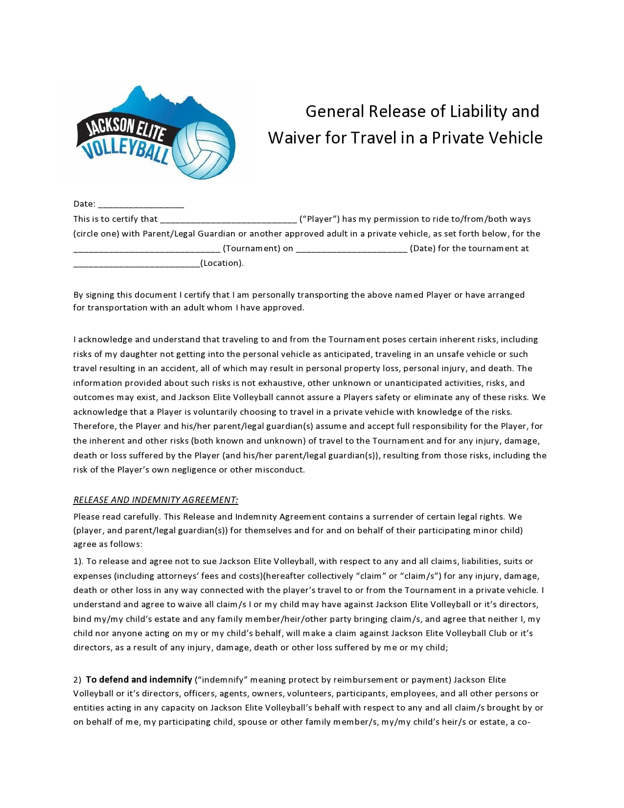 general release of liability form 03