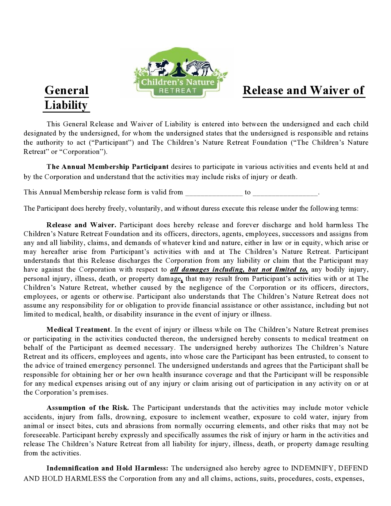 general release of liability form 04
