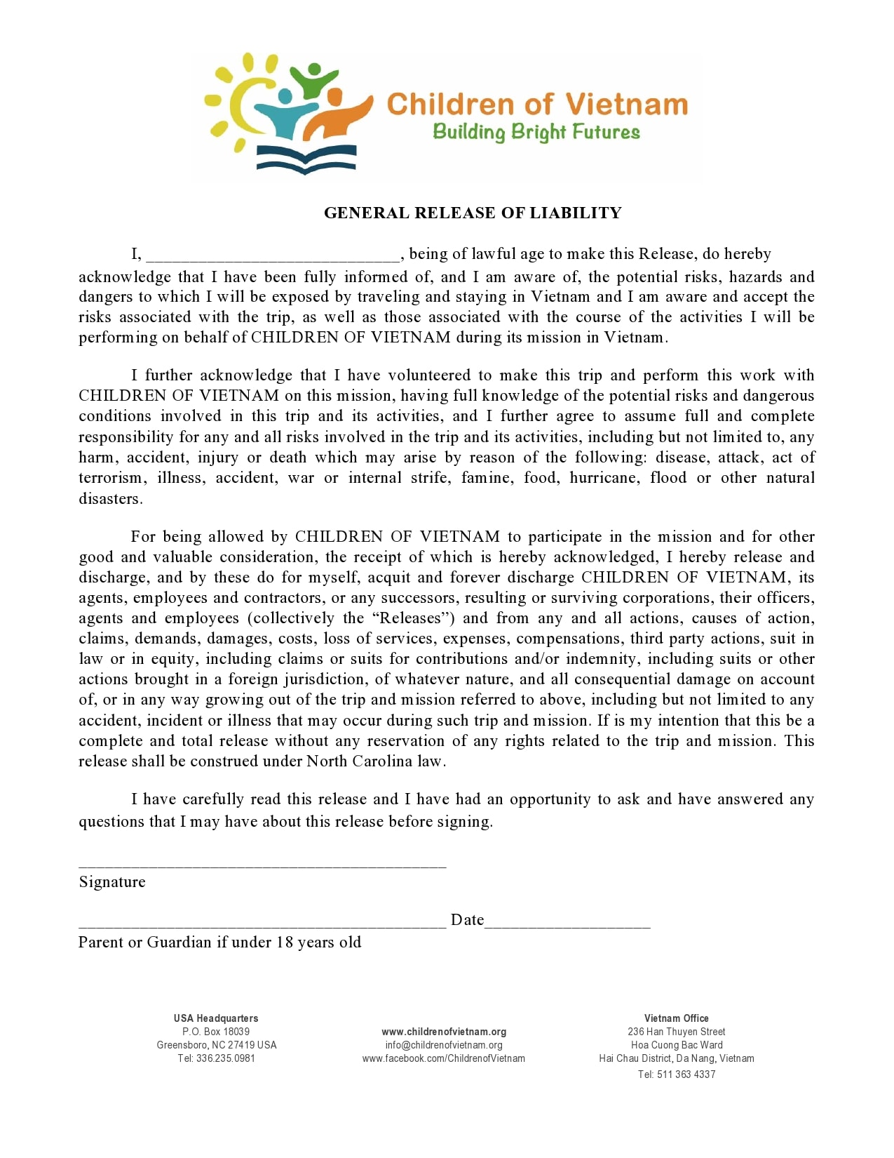general release of liability form 26