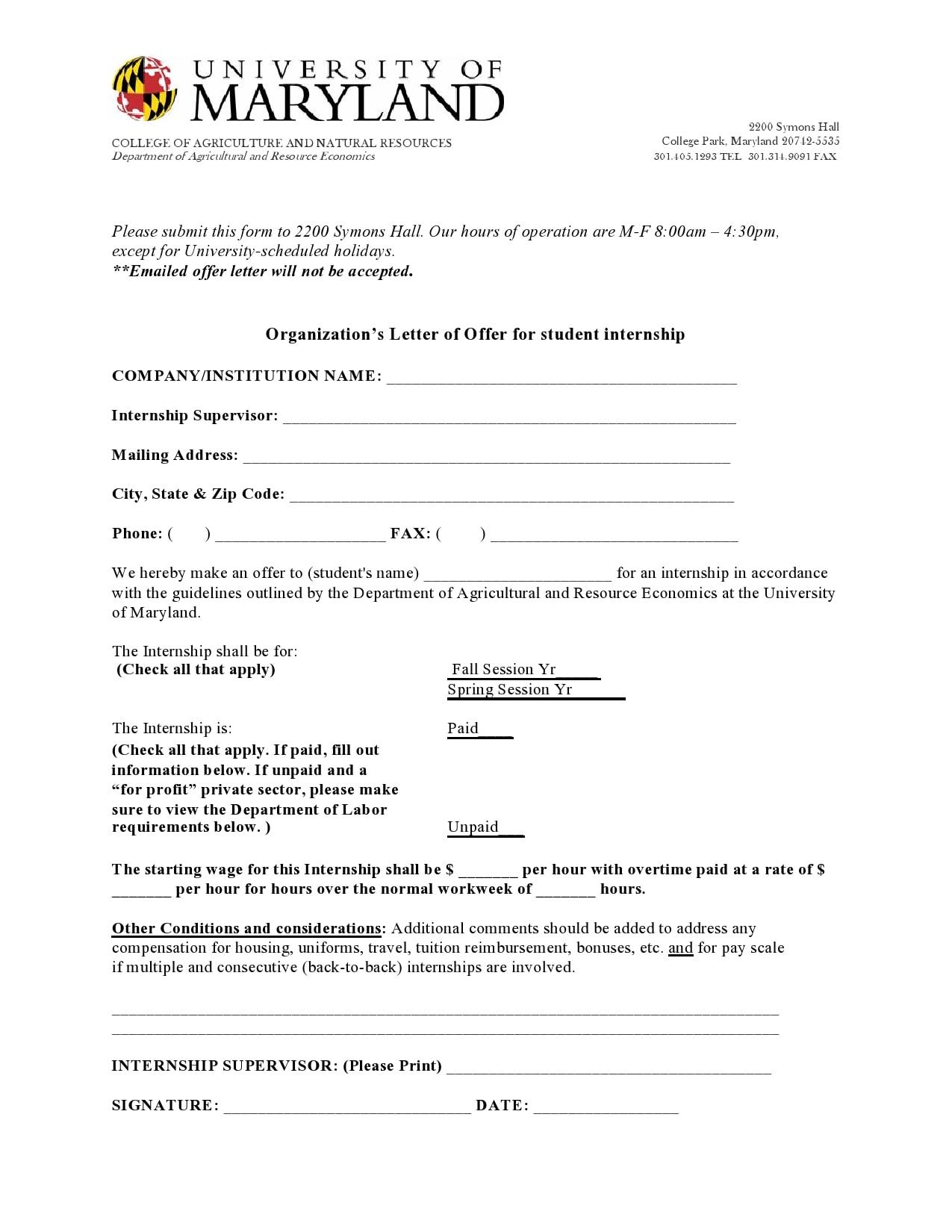 internship offer letter 26