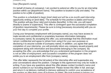 internship offer letter 27