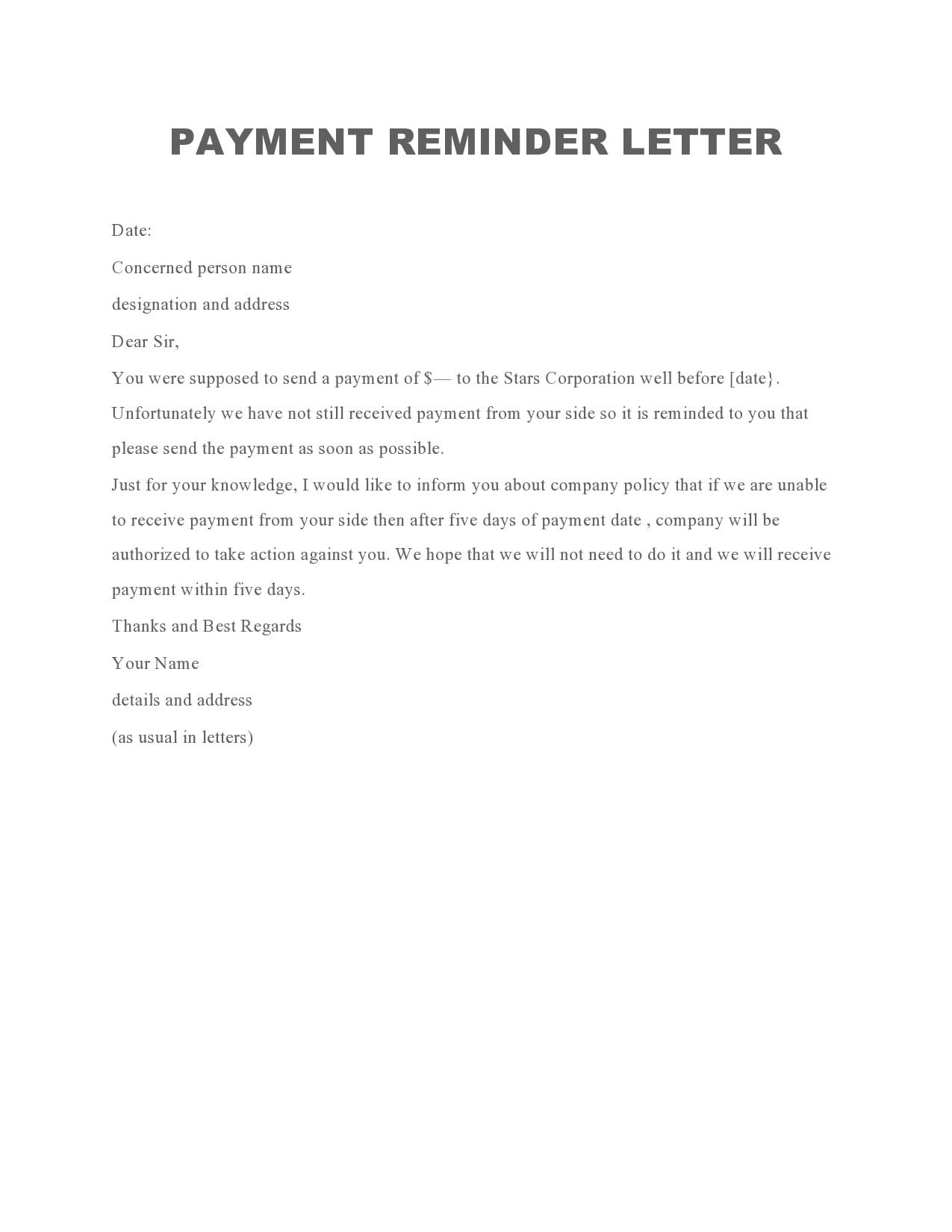 payment reminder 07