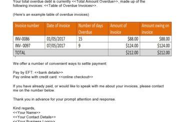 payment reminder 10