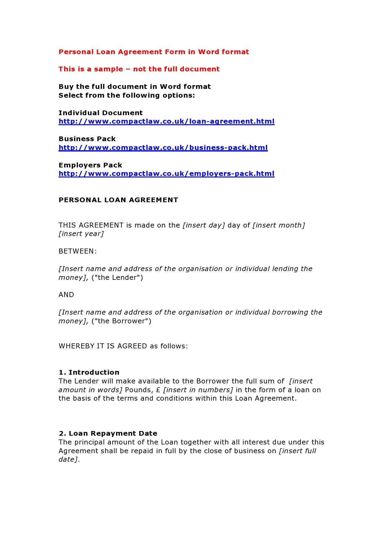 personal loan template 08