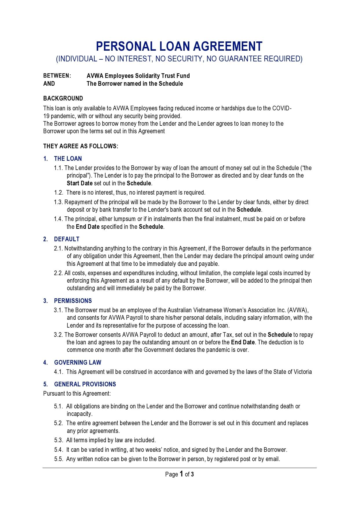 personal loan template 12