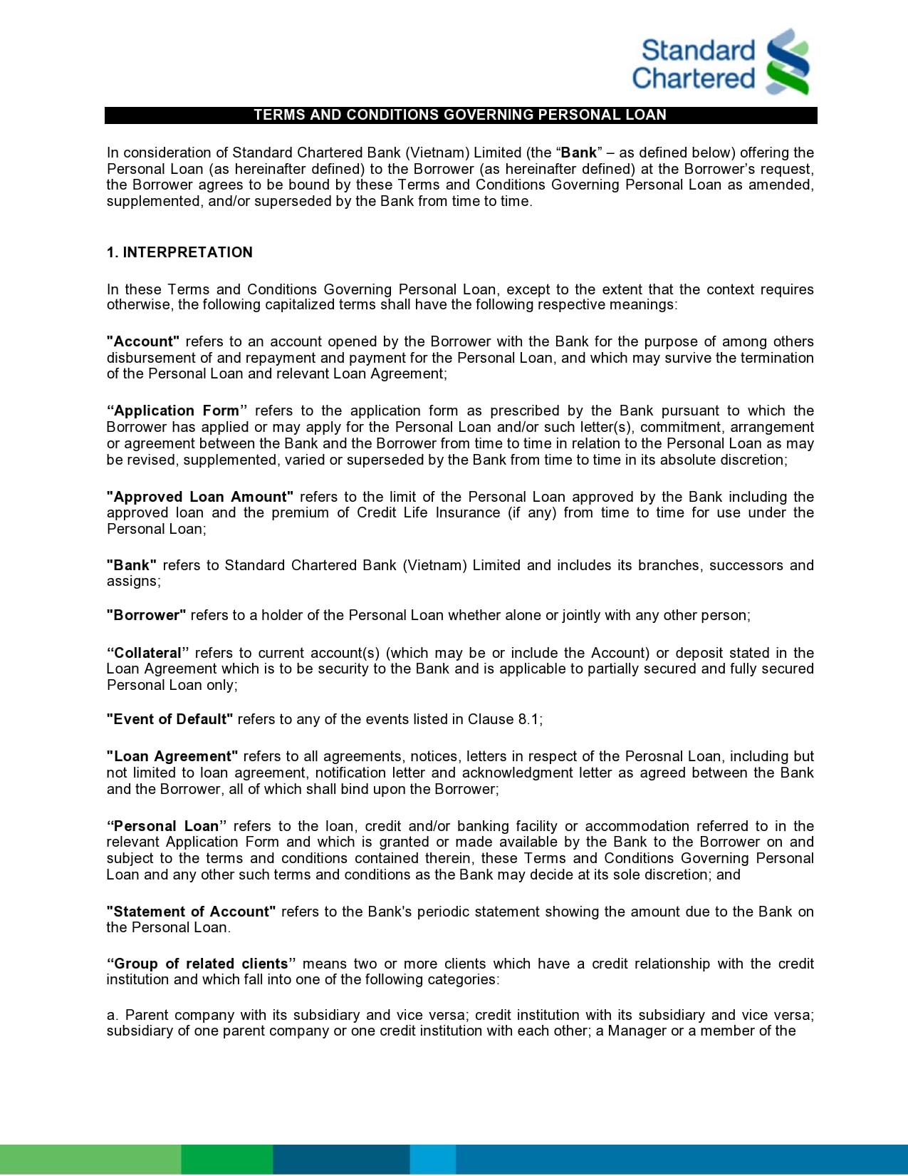 personal loan template 26