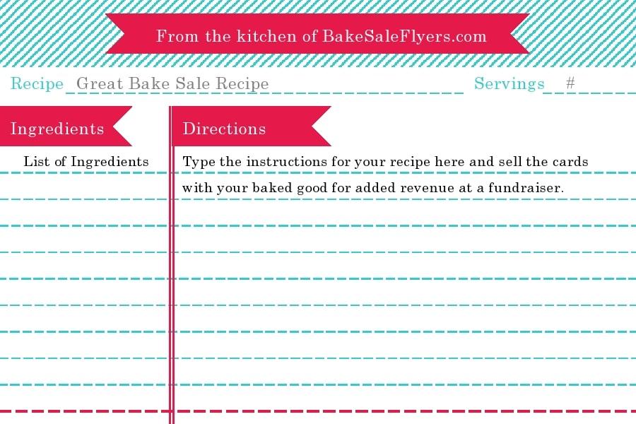 recipe book template 01